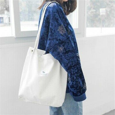 US Women's Canvas Bags Ladies Shoulder