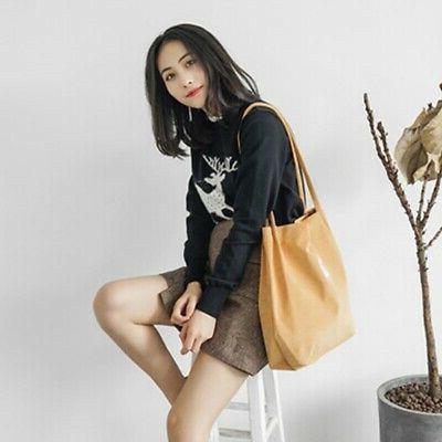 US Women's Canvas Bags Capacity Ladies Casual Shoulder