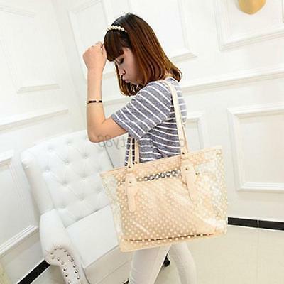 US Bag Clear Handbag Jelly Purse Bag