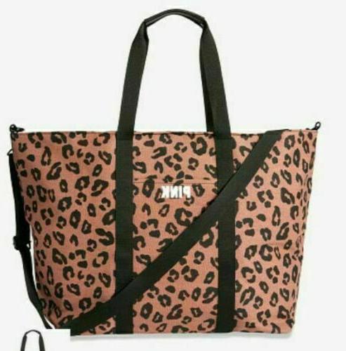 Victorias Secret LARGE Leopard Cheetah Gym NEW