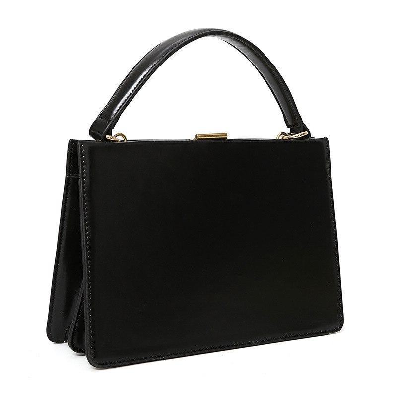 Vintage Clasp Women Handbags Metal Frame <font><b>Tote</b></font> Autumn Box