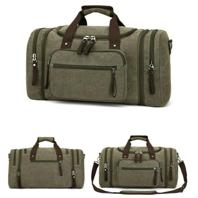 Vintage Men's Tote Gym Duffle
