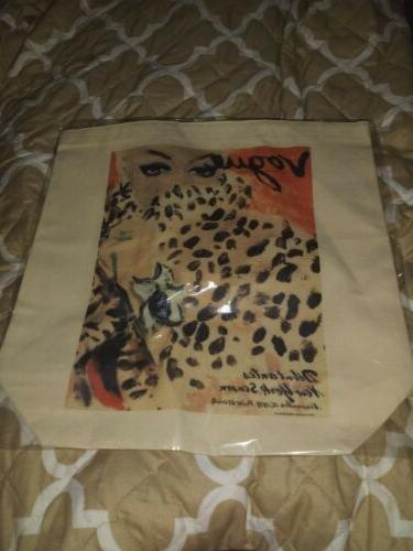 Vogue Tote Bag for or