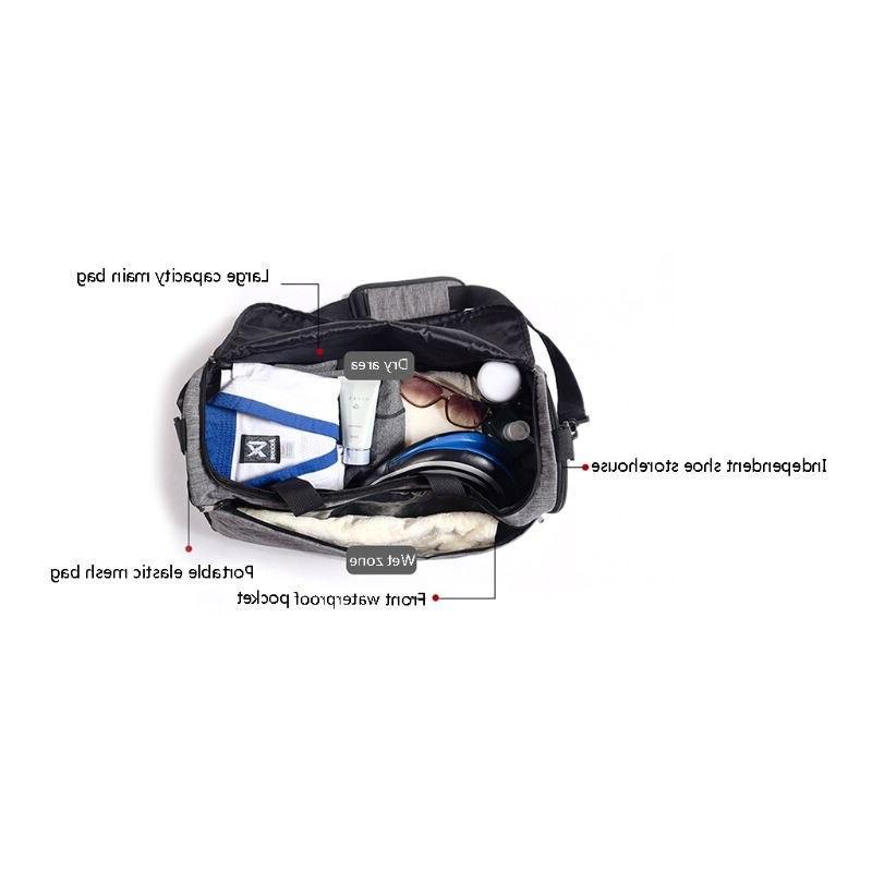 <font><b>Sports</b></font> Gym Men Women <font><b>Duffel</b></font> <font><b>Bags</b></font> with & Shoes Compartment