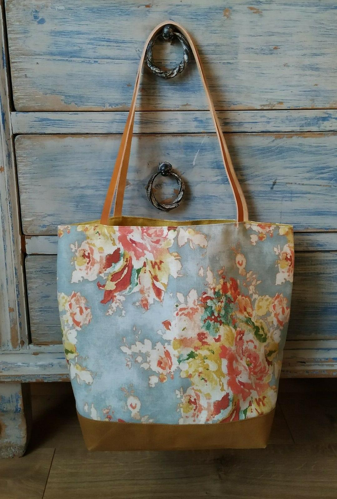 Waxed Cotton Bag with