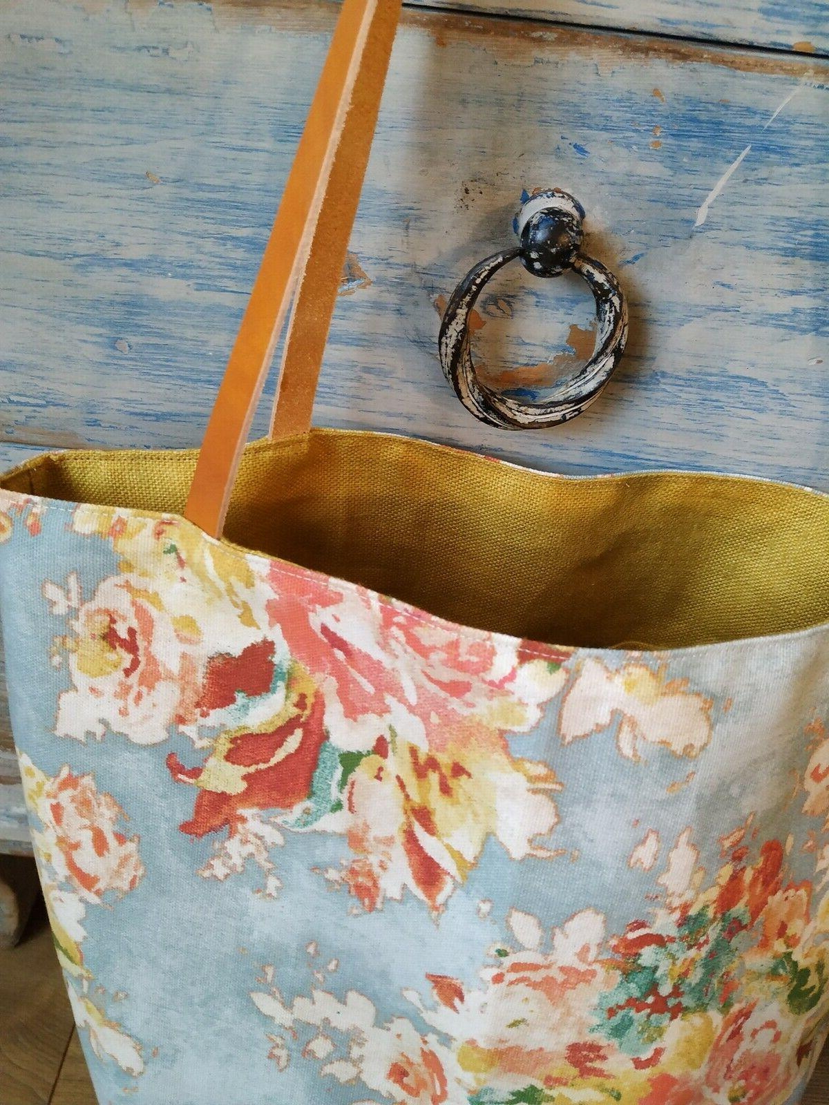 Waxed Tote Bag with