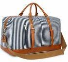 BLUBOON Weekender Overnight Bag Travel Women Ladies Canvas D