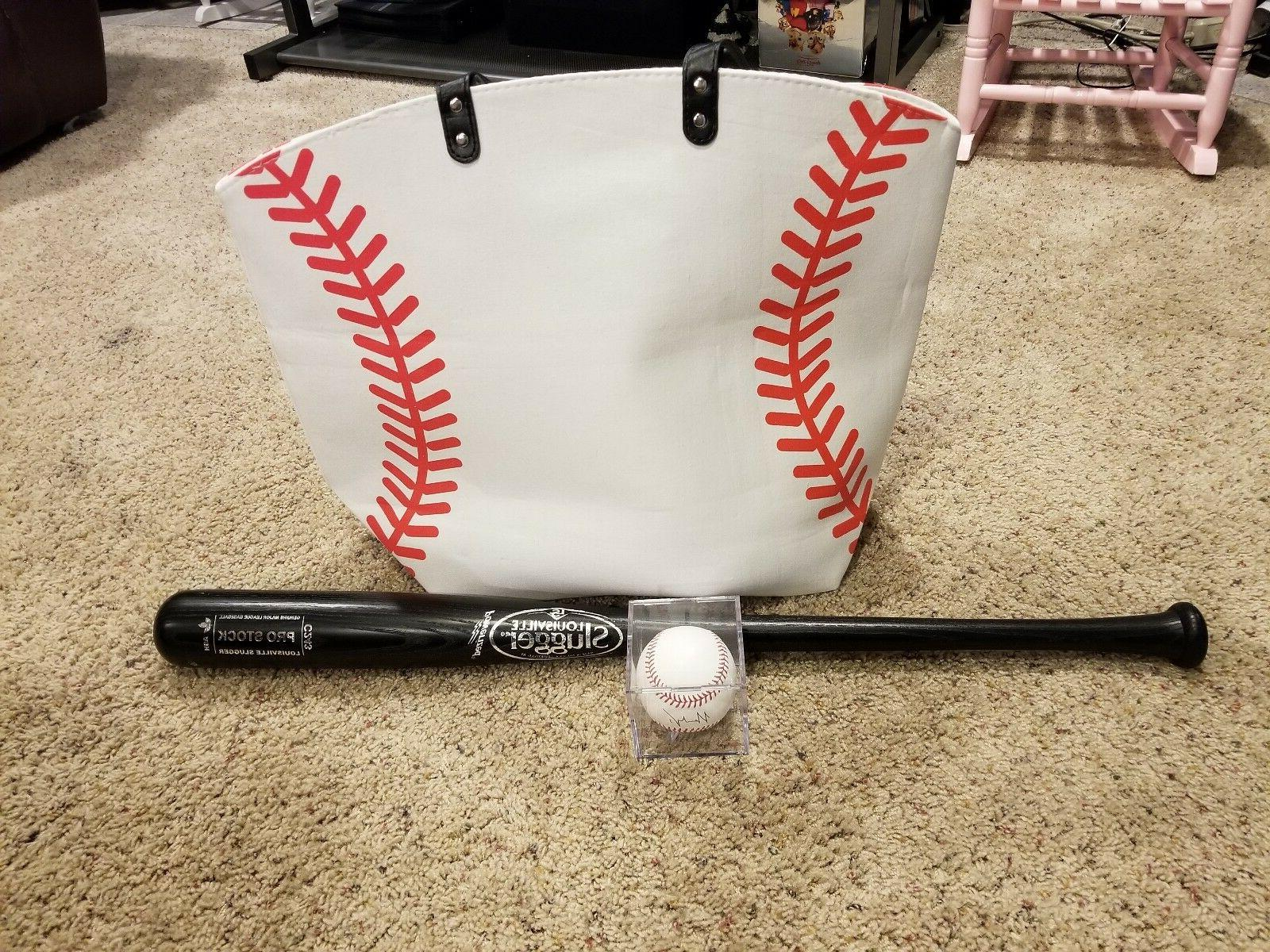 Baseball White w Best mom purse