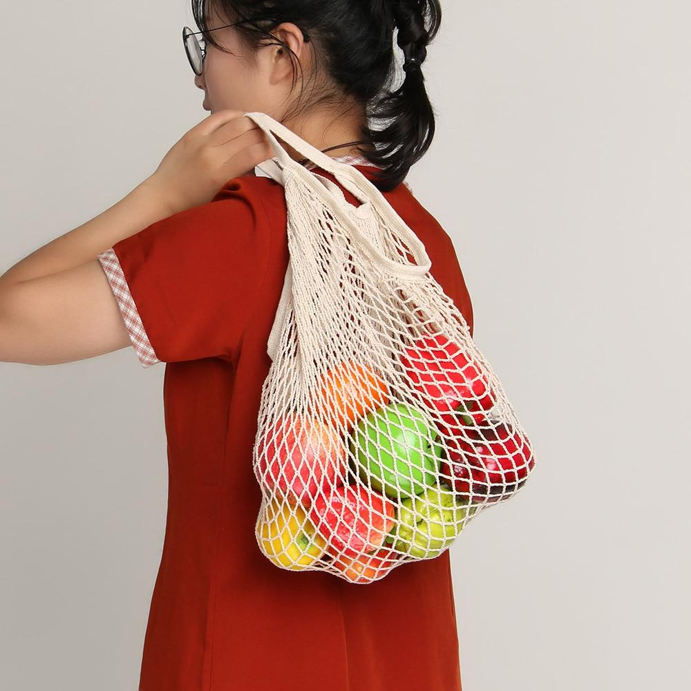 Wholesale Net String Hanging String Storage Handbag