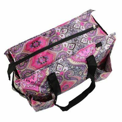 Wireframe Shopping Laundry Bag Purple