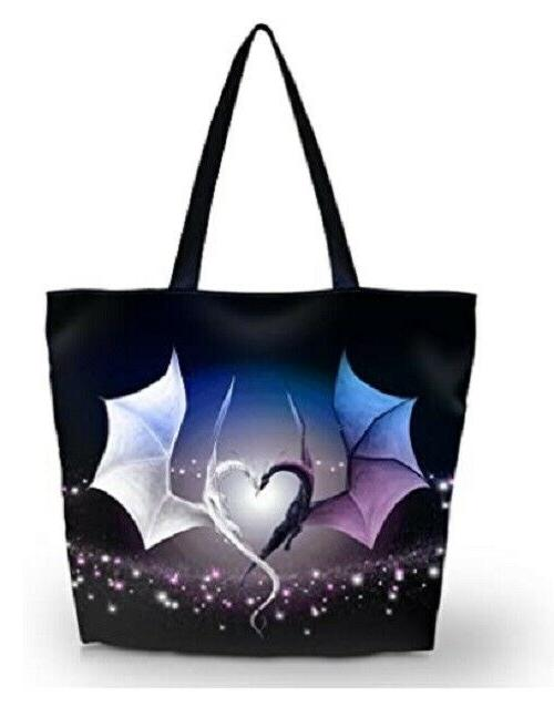 Womens Beach Tote Bags Shopping Handbag Gym Bag Purse
