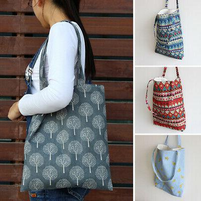 Women Ethinic Style Shoulder Bag Shopping Tote Package Bags