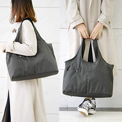 ZORESS Large Tote Handbag Waterproof Tote Bag Travel Shoulder