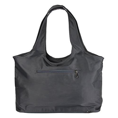 ZORESS Women Tote Waterproof Tote Bag Nylon Travel Shoulder