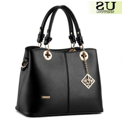 Women Handbag Bags Tote Leather Messenger