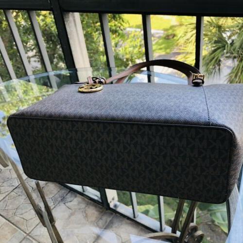 Michael Kors Women Large Leather Shoulder Handbag Purse