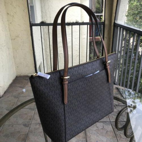 Michael Kors Women Large Leather Handbag Brown