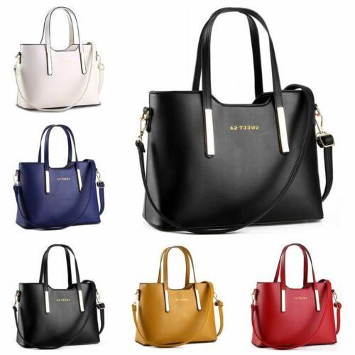 women leather handbag messenger shoulder bag ladies