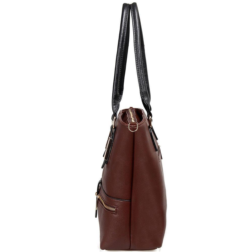 Women Leather Purses Handbags Crossbody Tote