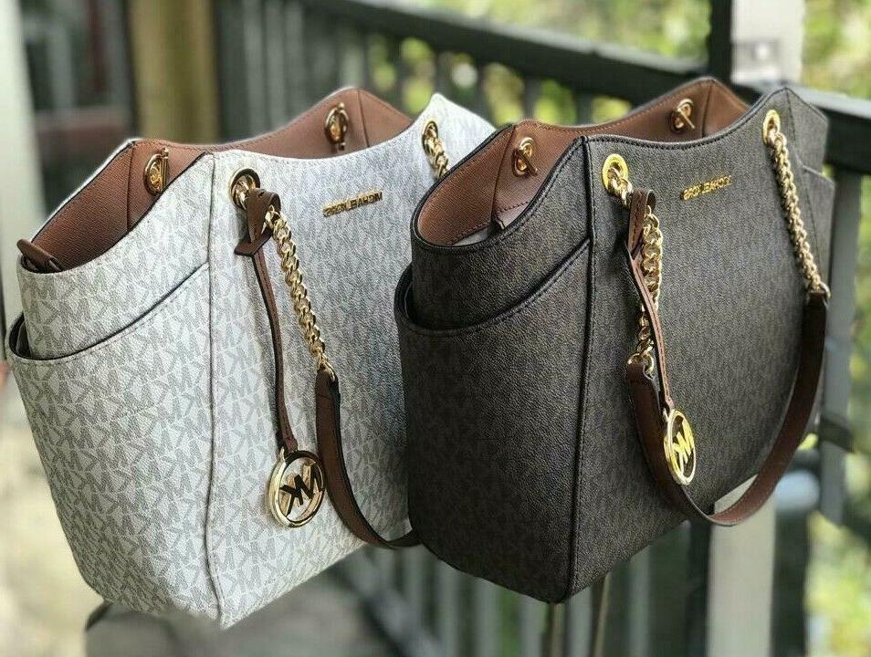 women leather shoulder tote bag purse handbag
