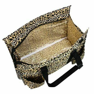 Women Lightweight Utility Bag Leopard