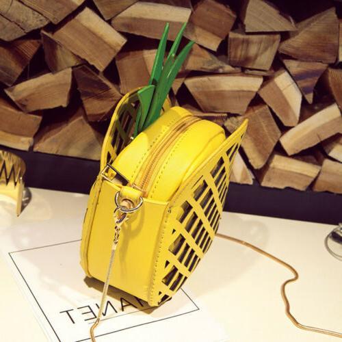 Women Pineapple Bag Messenger Crossbody