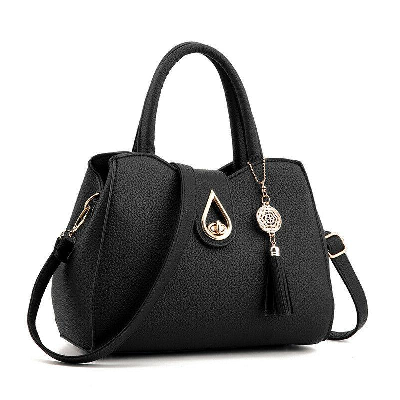 Women PU Shoulder Satchel Crossbody