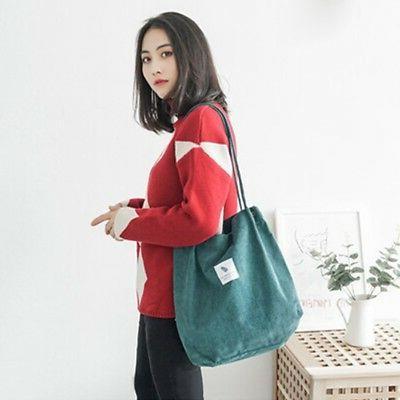 Women's Canvas Bags Large Handbag Ladies Casual Bag USA