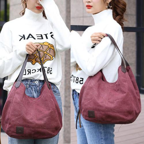 Women's Casual Handbag Shoulder Tote Messenger