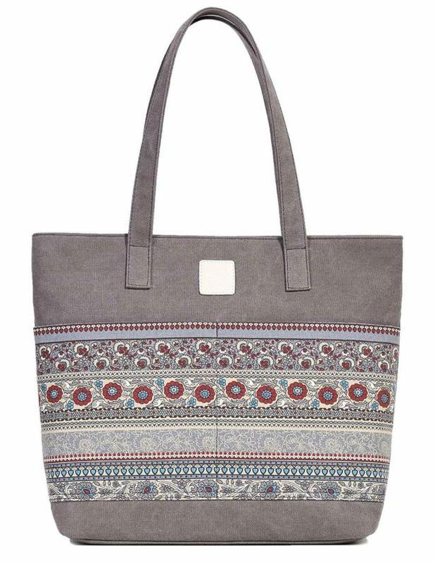 women s casual canvas tote bags shoulder