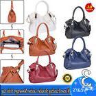 Women's Leather Handbag Shoulder Bag Tote Purse Messenger Ho