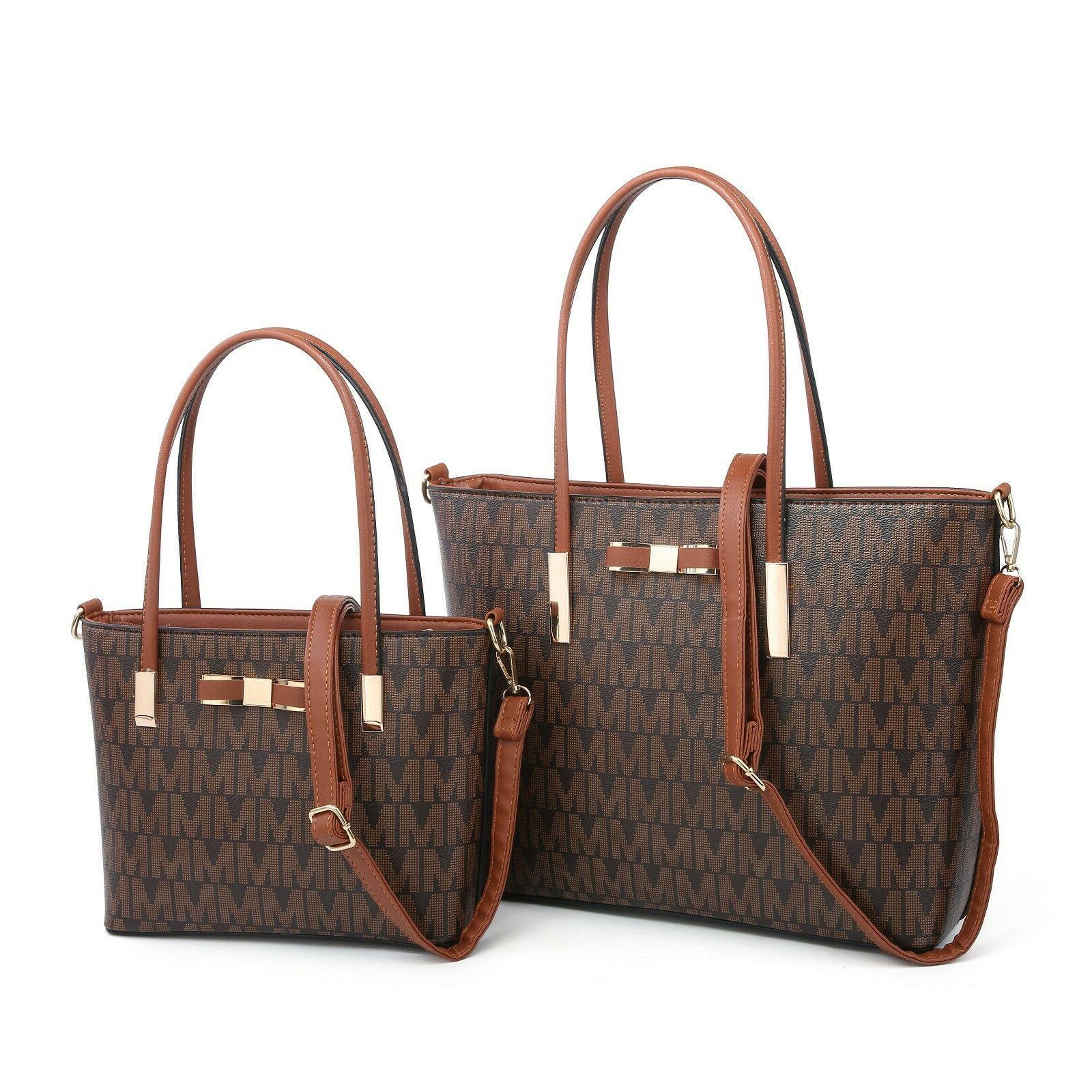 Women's Satchel Faux Leather Hobo Handbags Should Large Tote
