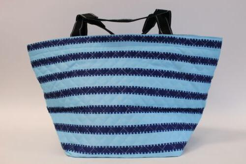 Scout Women's Stripe Printed Quilted Tote SH3 Tribeca Large