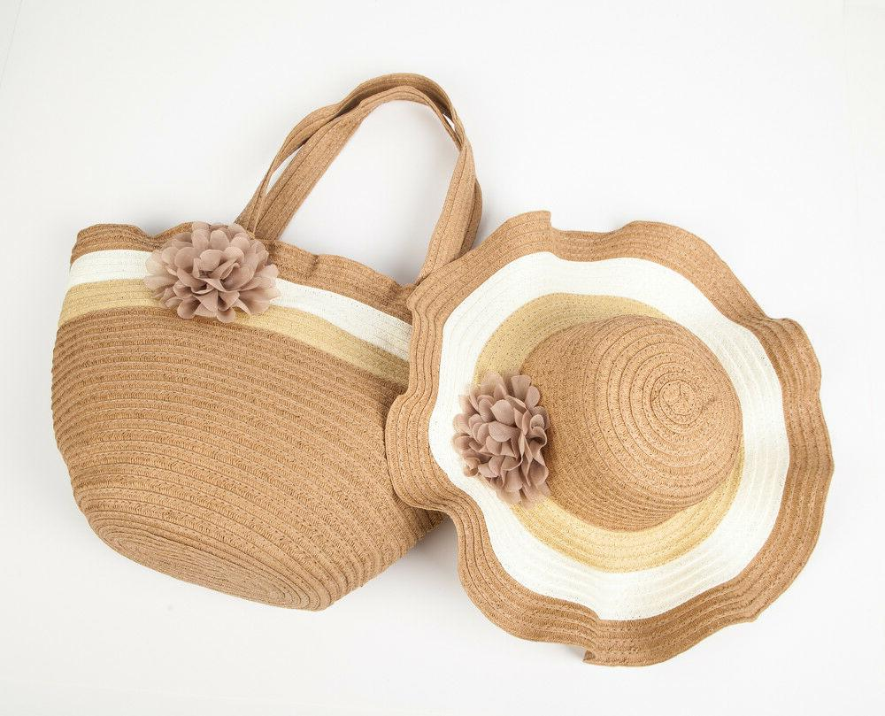 Straw Sun Beach & Bag Only