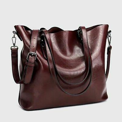 Women Leather Handbag Bag Crossbody