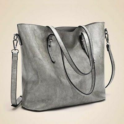Women Oiled Leather Handbag Bag Crossbody