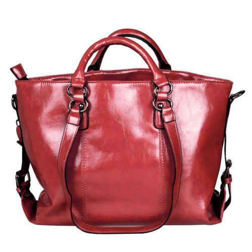 Women Soft Leather Handbag Bag Satchel