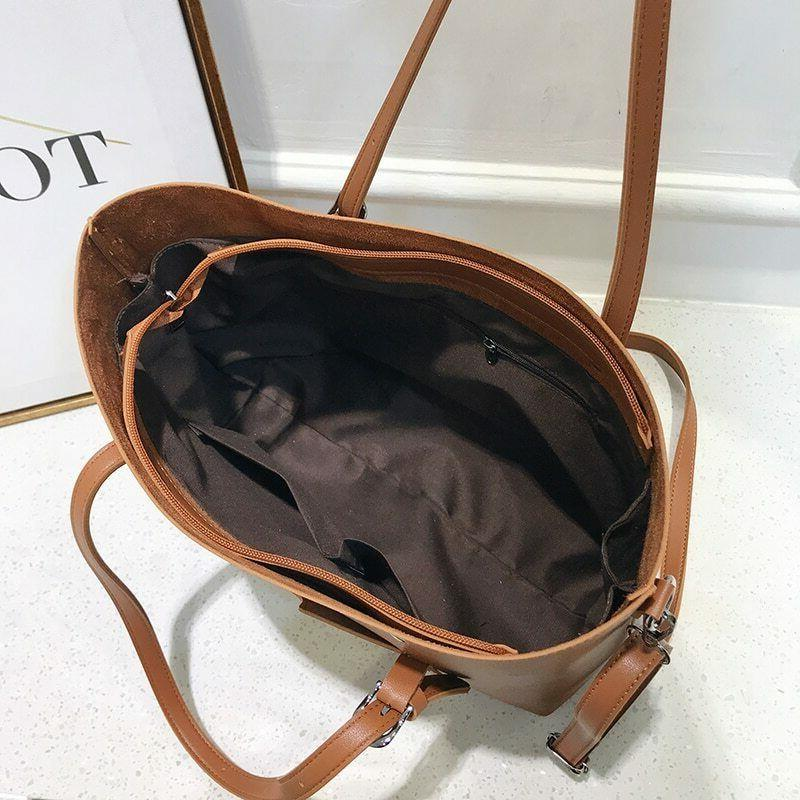 Women Women Leather Handbag Shoulder 87
