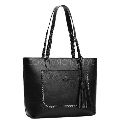 YOLANDO Tote Leather Handbag Hobo Messenger 24