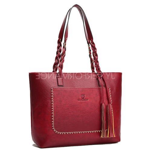YOLANDO Women Leather Hobo Messenger 24