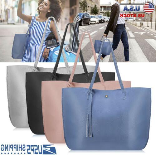 Women Tote PU Leather Bags Handbags