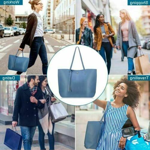 Women Leather Handbags Large