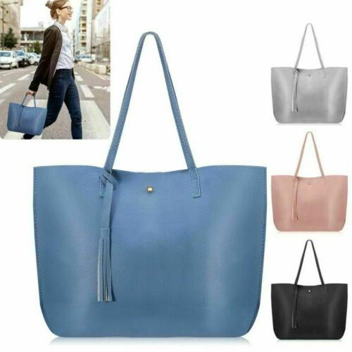 women tote bags pu leather lady shoulder