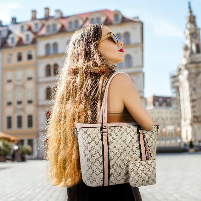 Women Tote Shoulder Large Handle Handbags