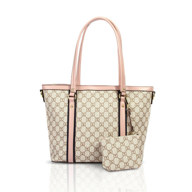 women tote shoulder bag large handle satchel
