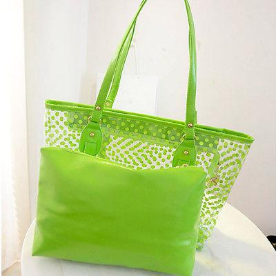 Women Transparent Bag Clear Handbag