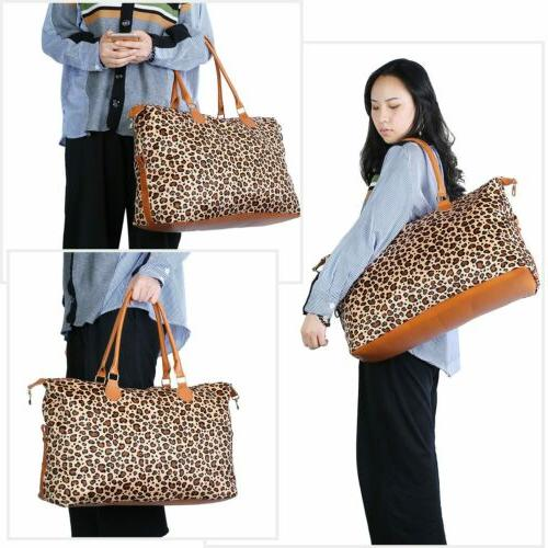 Women Travel Luggage Tote Shoulder