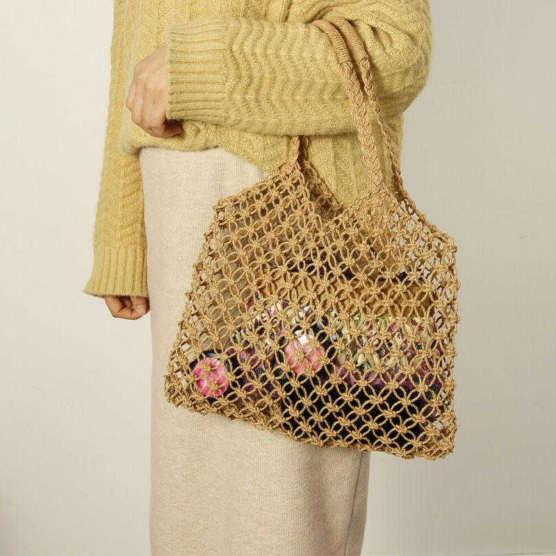 women wicker handbag bags totes beach straw