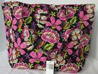 Vera Bradley Women Women's Grand Tote 2.0 Bag Purse PIROUETT
