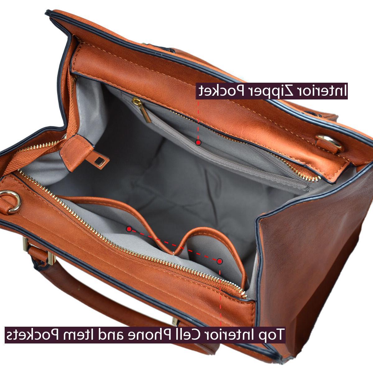 Dasein Handbags Satchels Tote Bag Bags Winged Purse